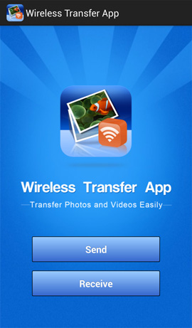 Wireless Transfer App Easily Send Photos To Iphone Ipad