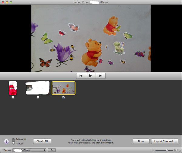 How to Transfer Videos from iPhone to Mac with iMovie